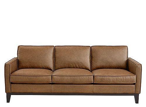 Roscoe Leather Sofa Leather Sofa Top Grain Leather Roscoe