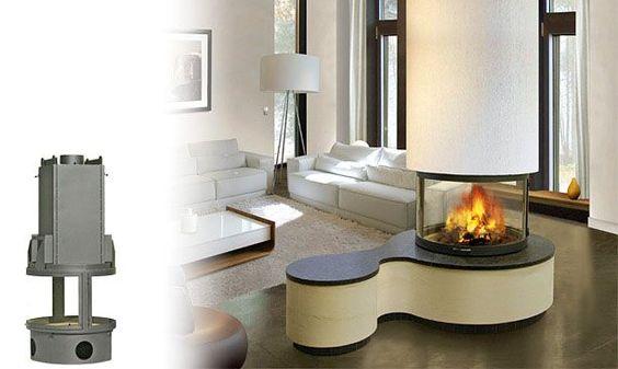 cheminee suspendu panoramique 01 poele a bois pinterest. Black Bedroom Furniture Sets. Home Design Ideas