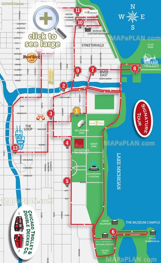 Buses Chicago And Aquarium On Pinterest