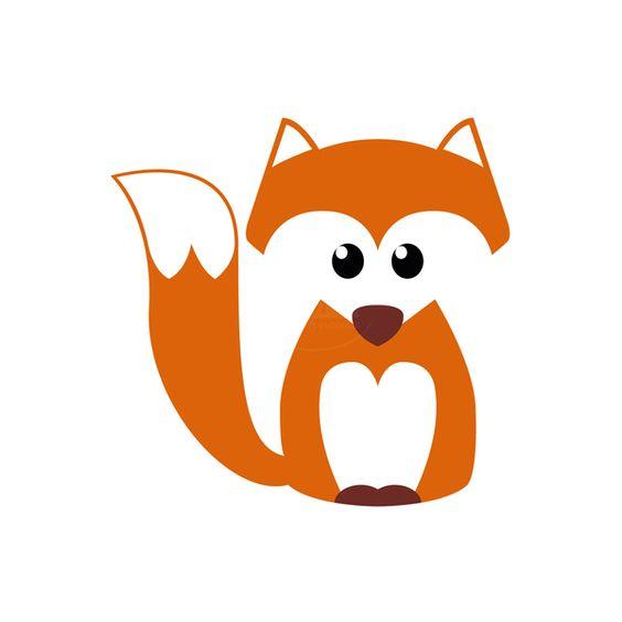 Strijk applicatie vos