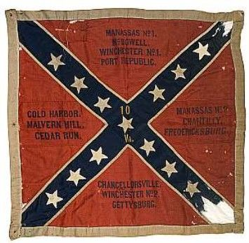 Rare Northern Virginia Confederate Battle Flag Highlights Western Historic Americana Auction Confederate Battle Flag Civil War Flags Battle Flag