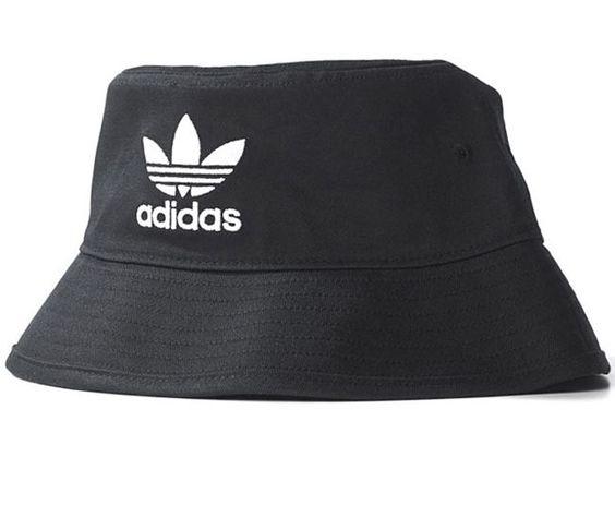 Adidas Mens Originals Bucket Hat Black