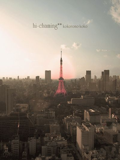 Twilight of the Tokyo Tower