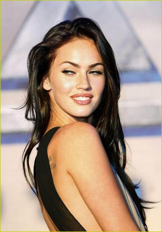 Megan Fox~ ❤ makeup n brows: