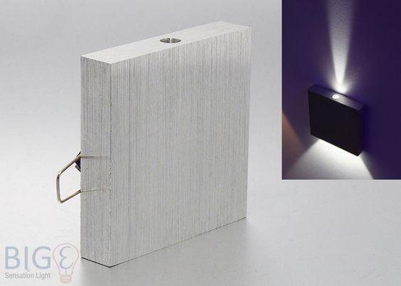 #LED #Wandeinbauleuchte Stufenwürfel Mini 1 Watt diverse Lichtfarben