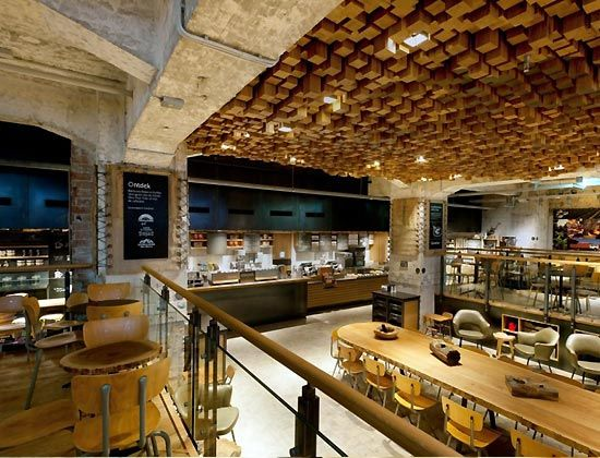 Starbucks coffee shop interior design ideas restaurant n cafe pinterest coffee bar design - Coffee shop interior design ideas ...
