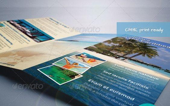 Showcase of Premium Travel Brochure templates psd files - travel brochure templates