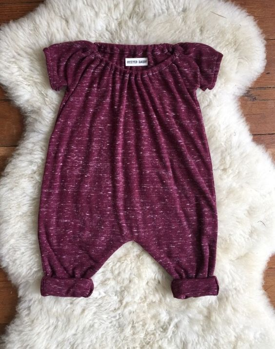 Drooling over the Knit Burgundy Shortalls Rompers from
