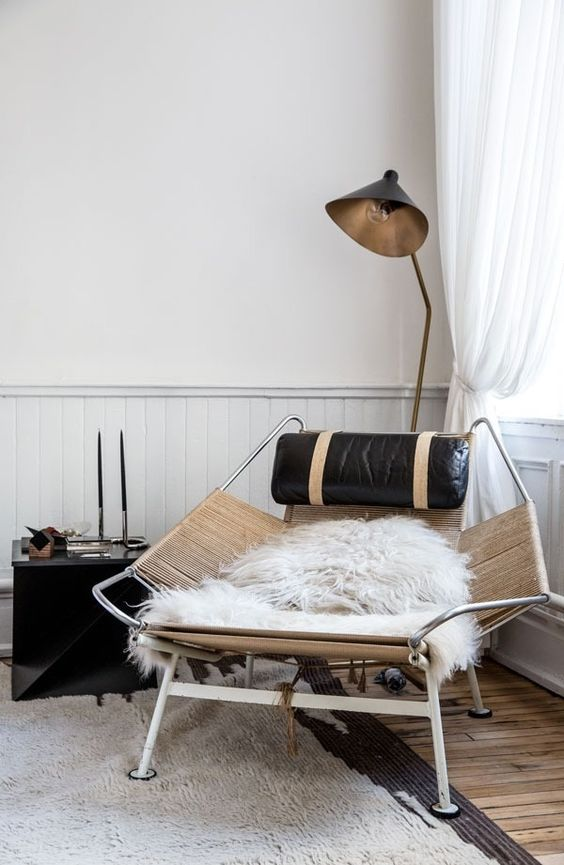 The apartment by the line flag halyard chair