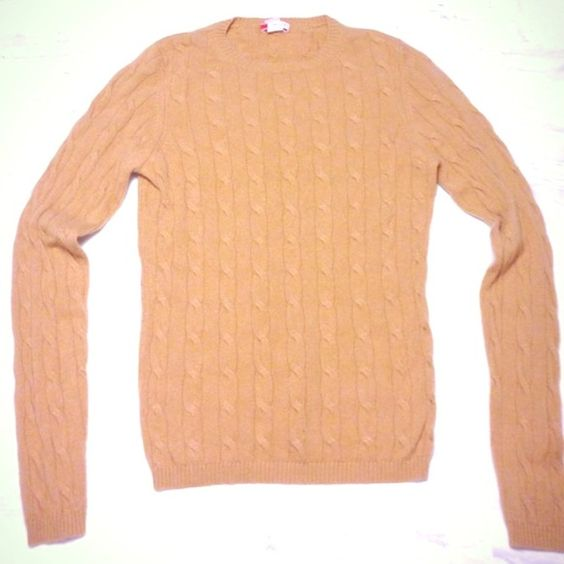 Cable knit cashmere sweater Beautiful cable knit cashmere sweater in great condition. Fitted, true to size. Crew neck. 100% cashmere.  Softest sweater ever. Very very minimal pill. Extremely reduced as I need to sell. This is a steal! Hayden Sweaters