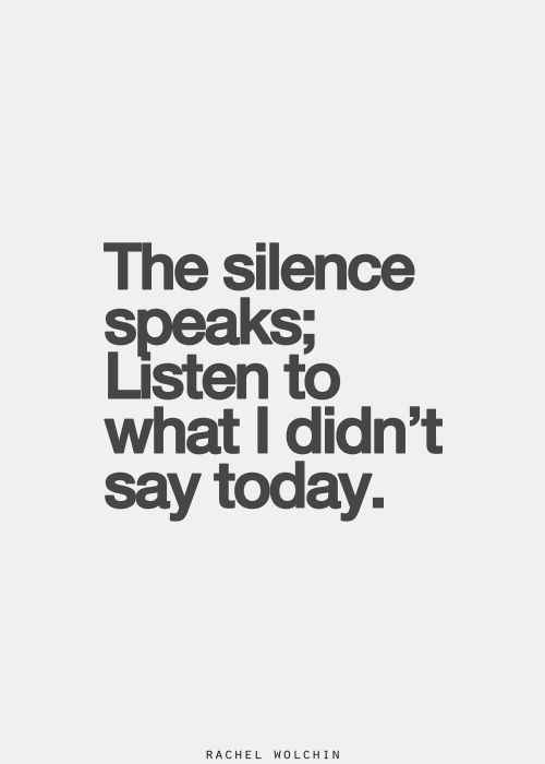 Image result for the silent speaks