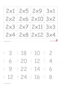 Multiplication and tables on pinterest - Reviser les tables de multiplication ...
