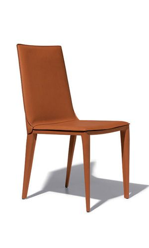 Modern Leather Harmony Dining Chair