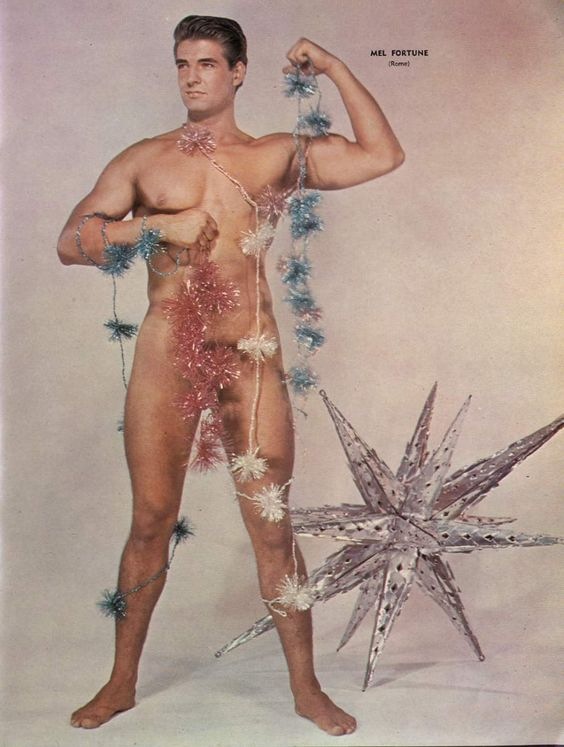 Vintage Beefcake Christmas!: