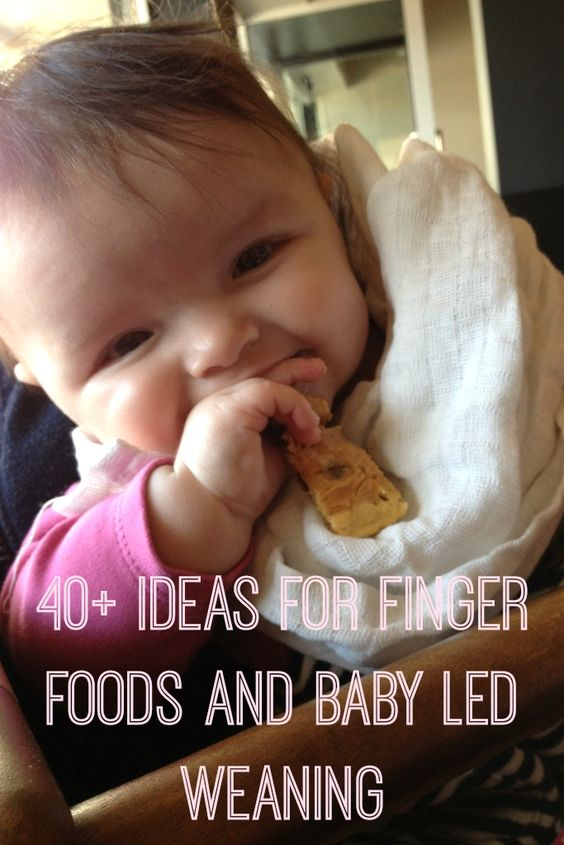 Finger Food Ideas For Babies Without Teeth