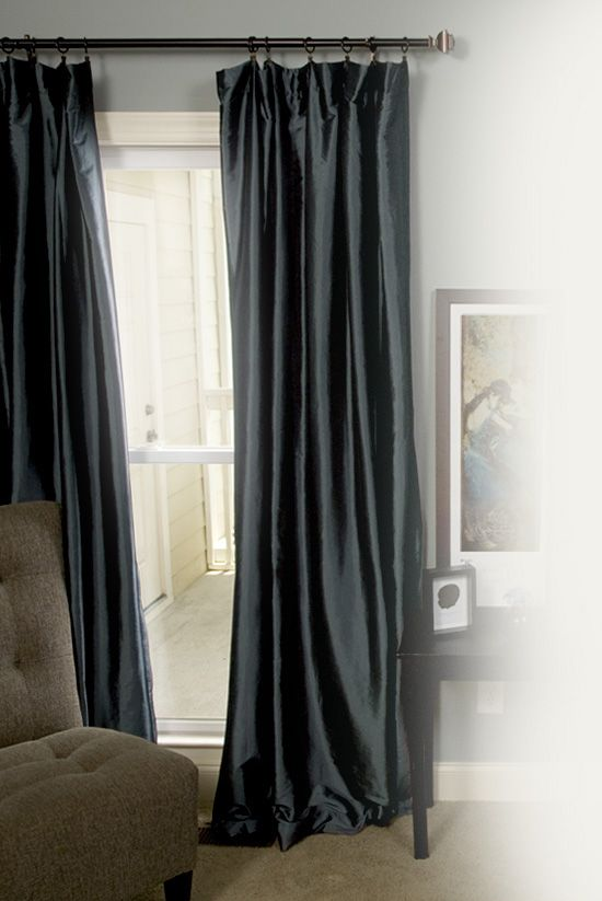 readyhang hang curtain rods with no holes or drilling perfect for my hard as rock walls. Black Bedroom Furniture Sets. Home Design Ideas
