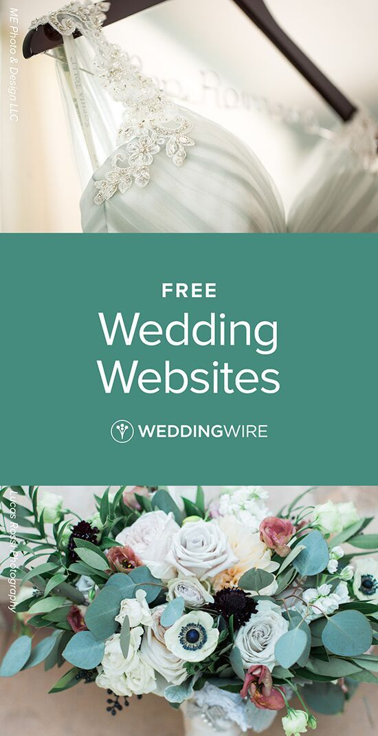 Create A Free Customizable Wedding Website Share Wedding Details About Accommodations Registry Wedding Website Free Wedding Website Wedding Flowers Summer