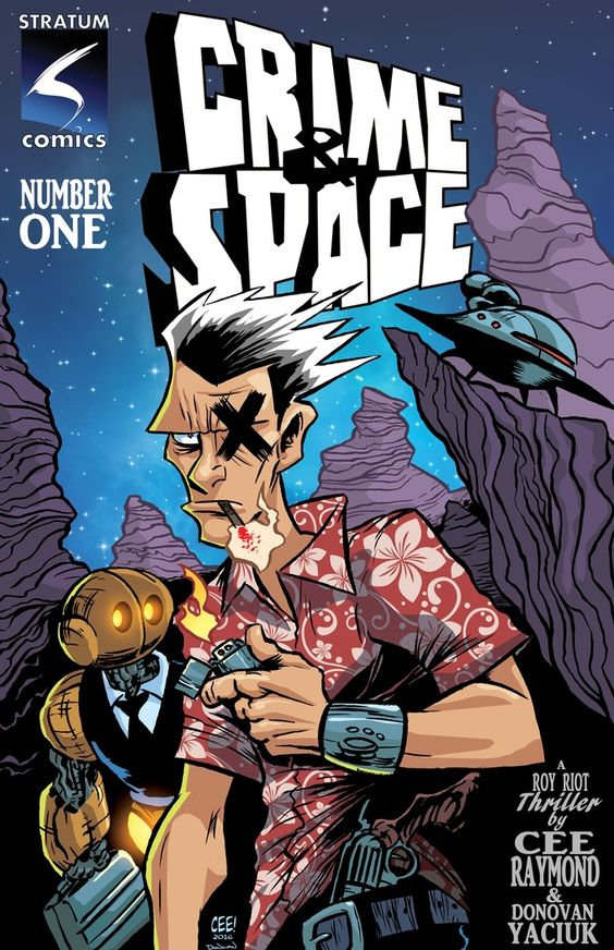 Crime & Space Issue 1 Cover