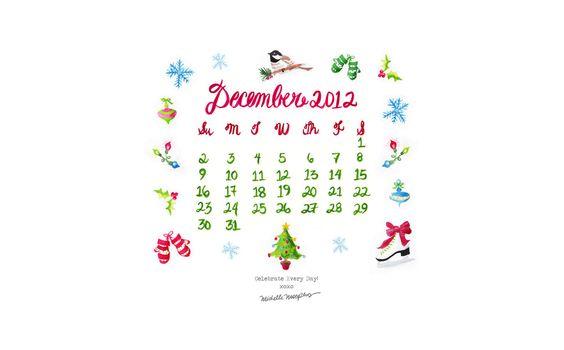 Calendar 2012   Unique Wedding Invitations & Custom Handmade Invitations   My Personal Artist