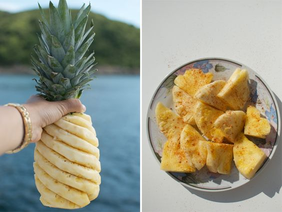 SUMMER SNACK: CHILLI SALTED PINEAPPLE