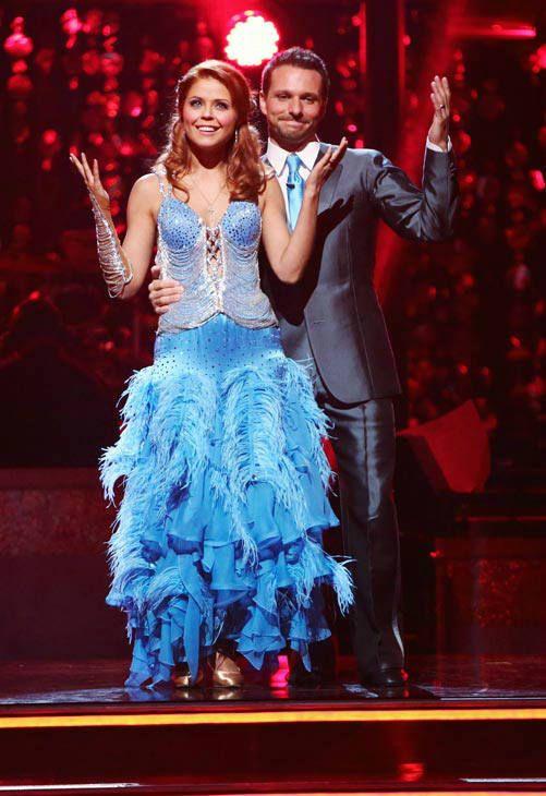 Dancing With The Stars Season 15 Fall 2012 Drew Lachey And Anna Trebunskaya Foxtrot Dancing With The Stars Drew Lachey Dance