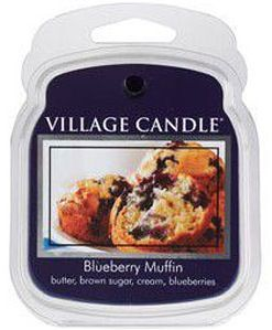 "Cires parfumées VILLAGE CANDLE ""BLUEBERRY MUFFIN"""