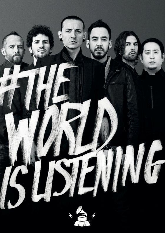 #TheWorldIsListening to Linkin Park  Share your sound on GRAMMYAmplifier.com