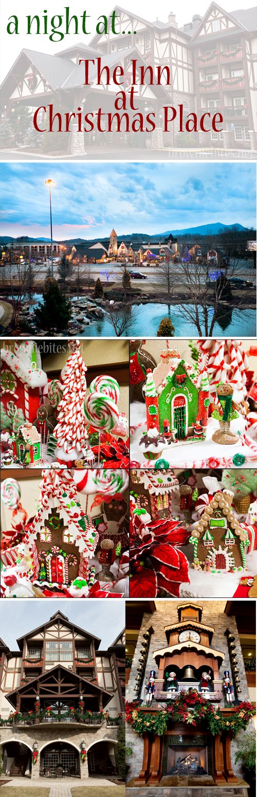 A Night at The Inn at Christmas Place in Pigeon Forge, Tennessee.