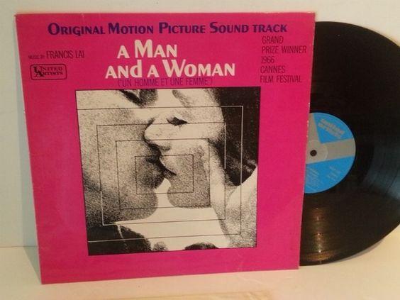 Francis Lai A MAN AND A WOMAN ORIGINAL MOTION PICTURE SOUNDTRACK - SOUNTRACKS, COMEDY, POP, VARIOUS ARTISTS, MISC. #LP Heads, #BetterOnVinyl, #Vinyl LP's