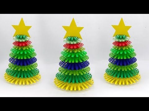 Beautiful Paper Christmas Tree Christmas Decoration Ideas With Paper Wreath Christmas O Paper Wreath Christmas Diy Paper Christmas Tree Christmas Ornaments