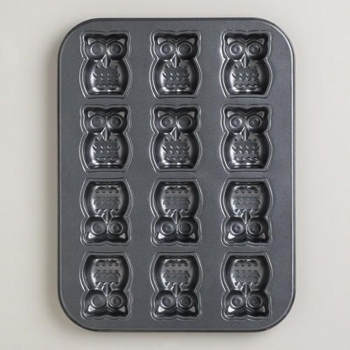 Nonstick Owl Cakelet Pan Pinterest Cost Plus Bar And
