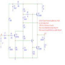 Youspice: 10 Watt Linsley amplifier with single power supply
