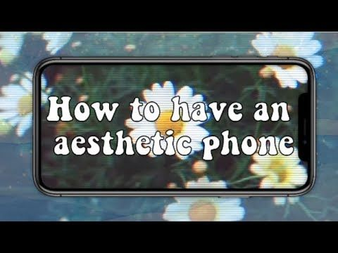 How To Have An Aesthetic Phone Organization Fonts Contacts