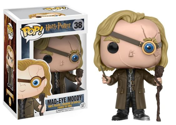 38 Mad-Eye Moody Funko Pop