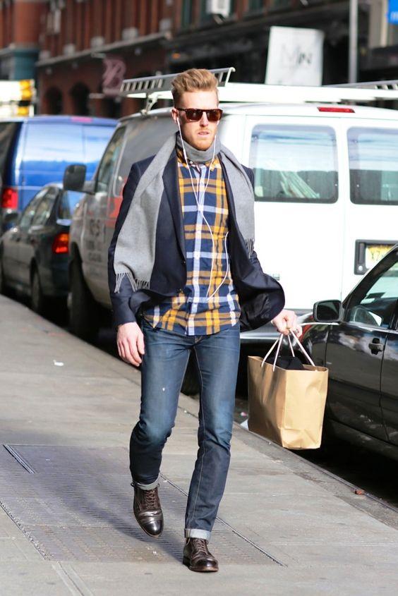 Men's Street Style - Rock A Blazer