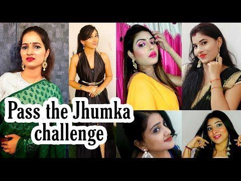 Don T Rush Challenge Pass The Jhumka Challenge Tiktok Challenge 5 Youtubers On Trending Youtube Youtubers Challenges Jhumka