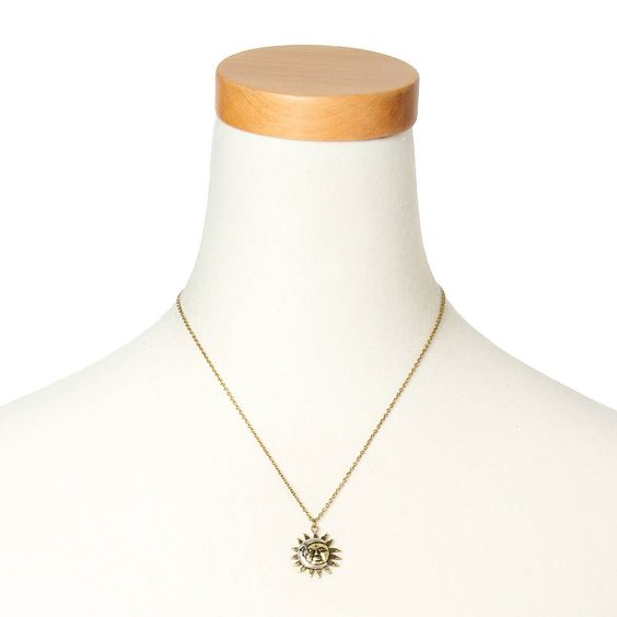 The sun and the moon rule the celestial and style universe when you wear this…