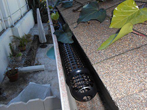 40 Gutter Cups Gutter Guards 60 Feet Long Best Gutter Protection From Leaves Diy Gutter Guard Gutter Guard Gutter Screens Diy Gutters