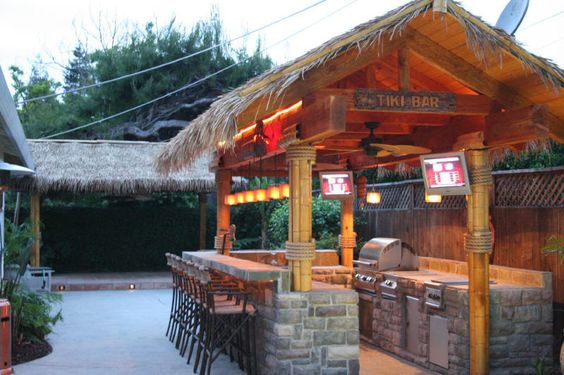 Ideas For Gazebo Transformation Bamboo Panels Thatch