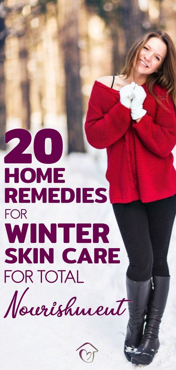 20 Home Remedies For Winter Skin Care For Total Nourishment Winter Skin Care Combination Skin Care Winter Skin