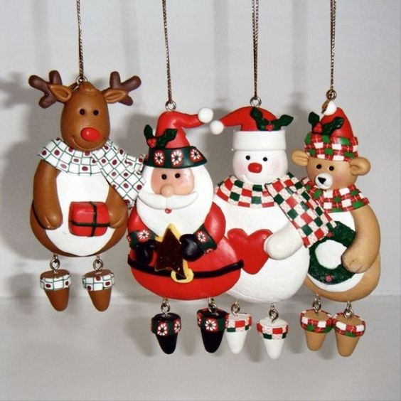 Handmade Christmas Decorations Ideas