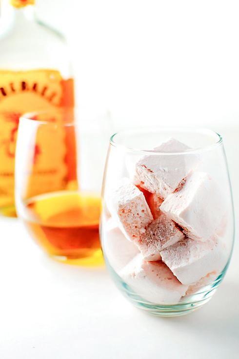 guimauve whisky verre