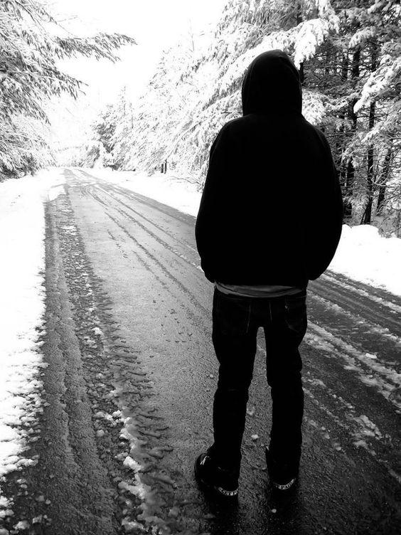 sad broken heart boy in love images photos | Sad Boy Alone ...