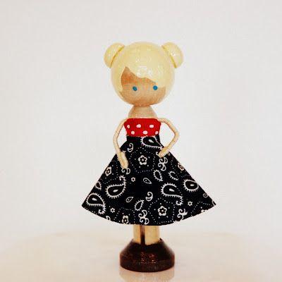 Darling Clothes Pin Dolls