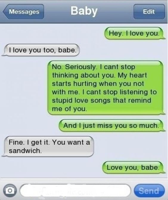 Lolzz..... Now THAT'S Love!