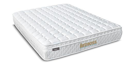 Noble 11 5 Inch Innerspring Mattress Medium Firm Certipur Us Certified By The Bed Boss Full Xl Mattress Innerspring Mattresses Bed