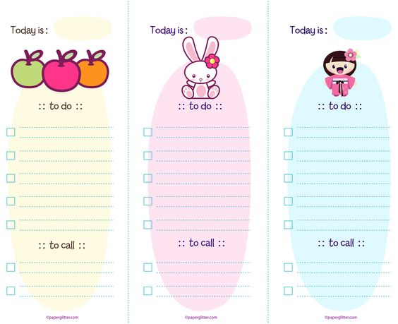 Kawaii, Paper crafts kids and Free printable party