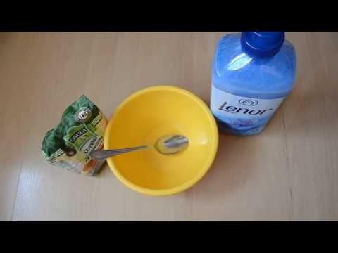 Slime Dla Poczatkujacych Z Dwoch Skladnikow Bez Kleju Youtube