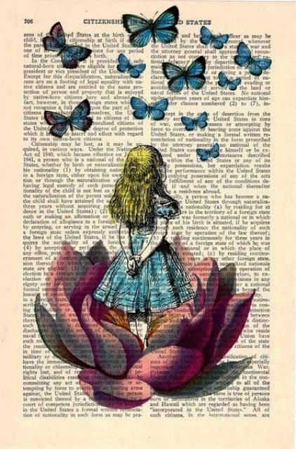 alice in wonderland tumblr drawing - Google Search ...