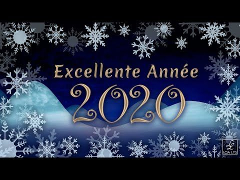 Carte Virtuelle De Vœux 2020 Video De Bonne Annee 2020 Youtube